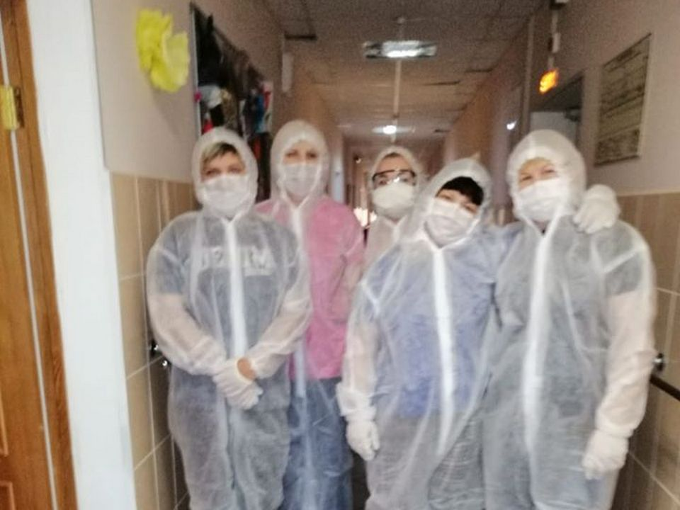 В Смоленск госпитализировали постояльцев вяземского интерната с коронавирусом
