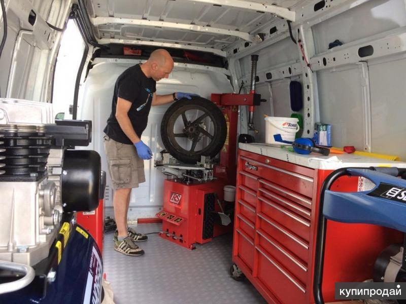 Преимущества шиномонтажа на колёсах