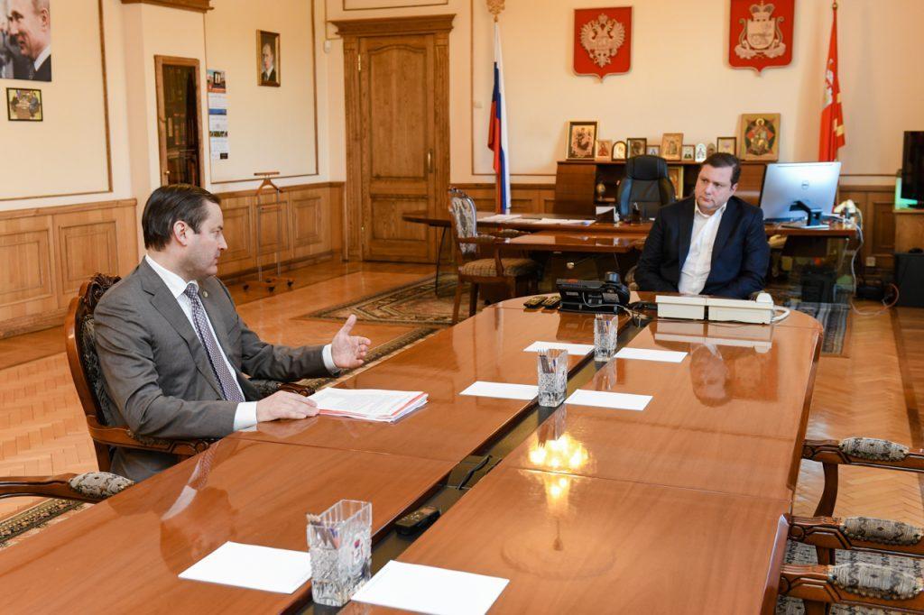 Ректор СГМУ попросил Алексея Островского проконтролировать ход реставрации медуниверситета