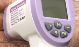 Бесконтактные термометры поступили в медучреждения Смоленщины