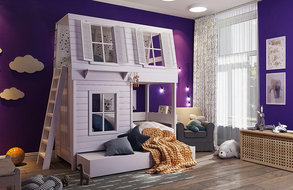Кровати-домики: широкий выбор по доступным ценам