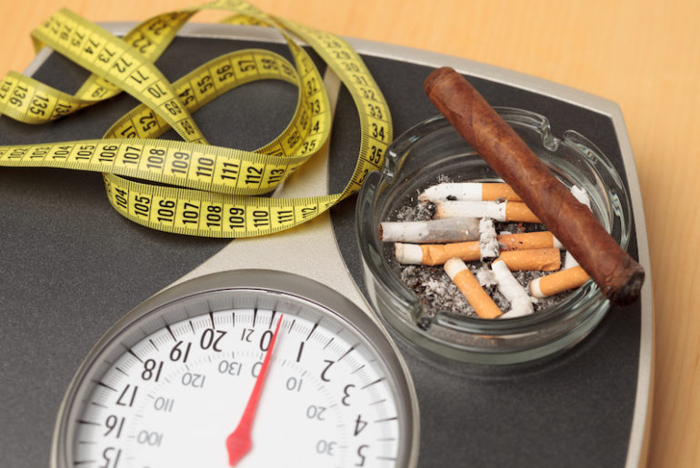 Как бросить курить и не набрать лишний вес
