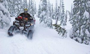 Что нужно квадроциклу для комфортной езды зимой