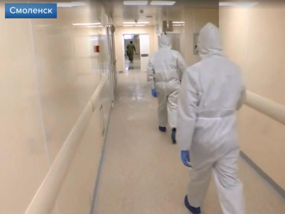 Почти все новые случаи заражения COVID-19 в регионе выявили в Смоленске