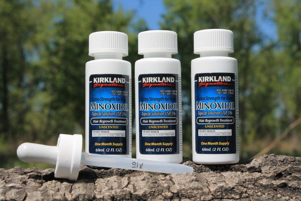Средства для роста волос на основе миноксидила