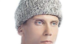 Мужская шапка из каракуля от производителя меховых изделий «РУССКАЯ ЗИМА»