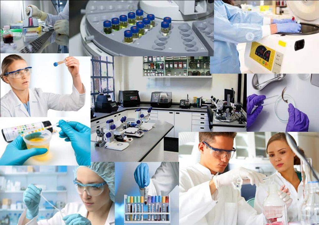 Использование лабораторного оборудования