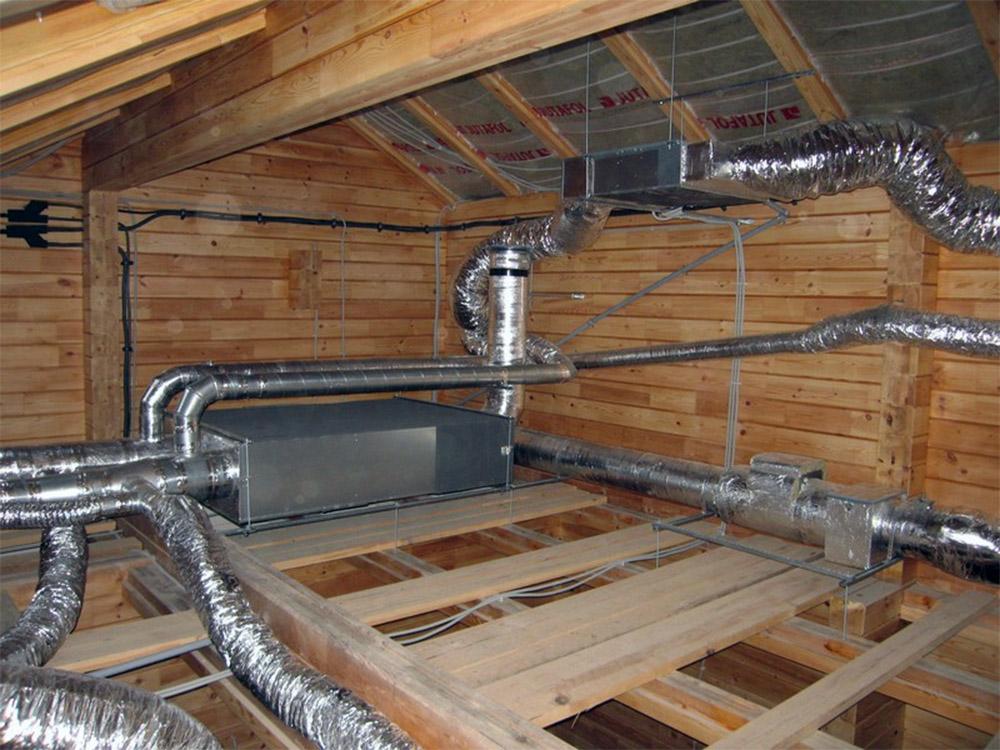 Организация вентиляции в частном доме