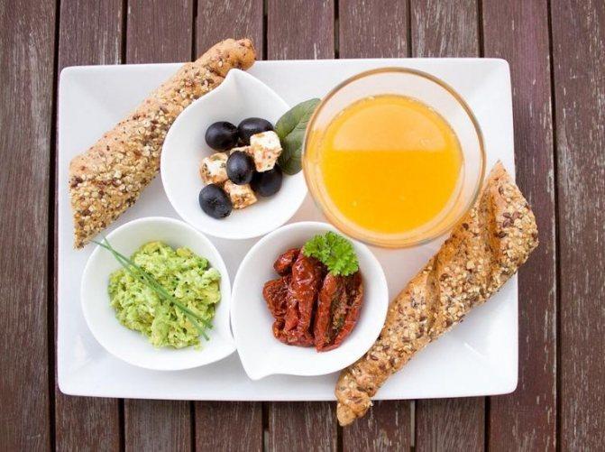Комбинация идеального завтрака для нормализации уровня сахара в крови, холестерина и потери веса