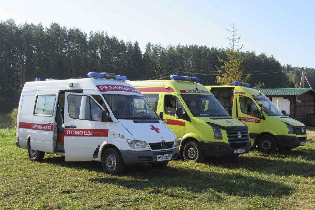 Быстрая транспортировка тяжелобольных от компании Ambulance-112