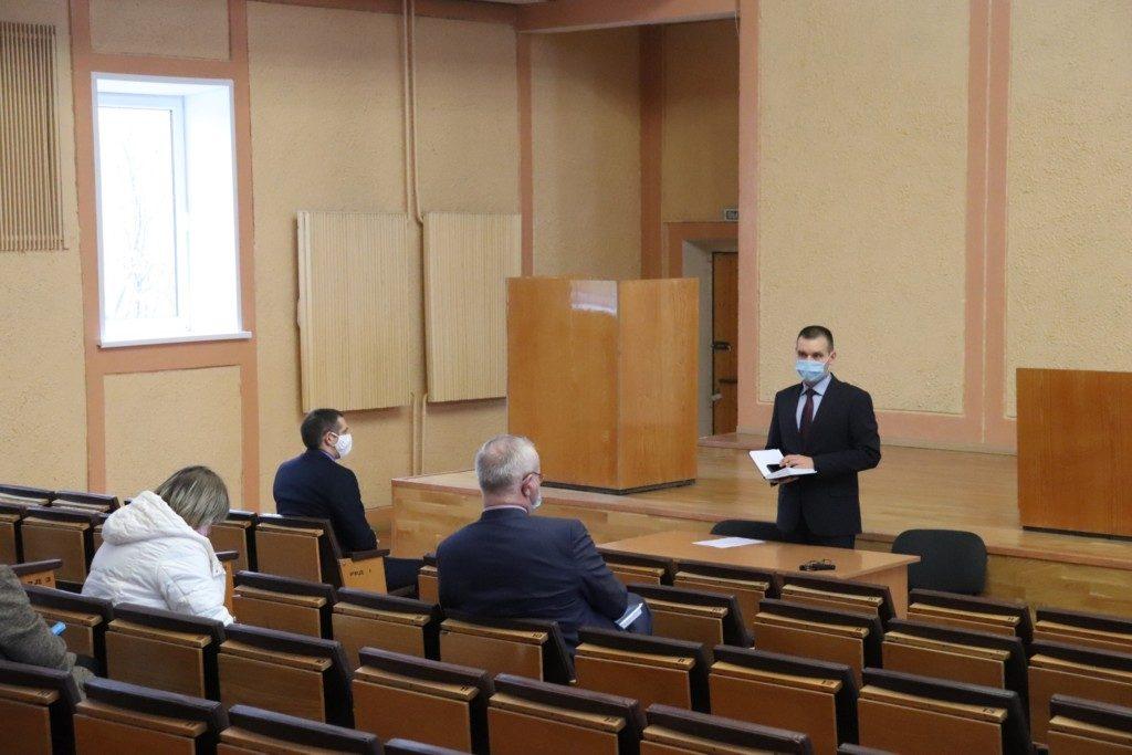 В Гагаринском районе открыли госпиталь для лечения коронавируса