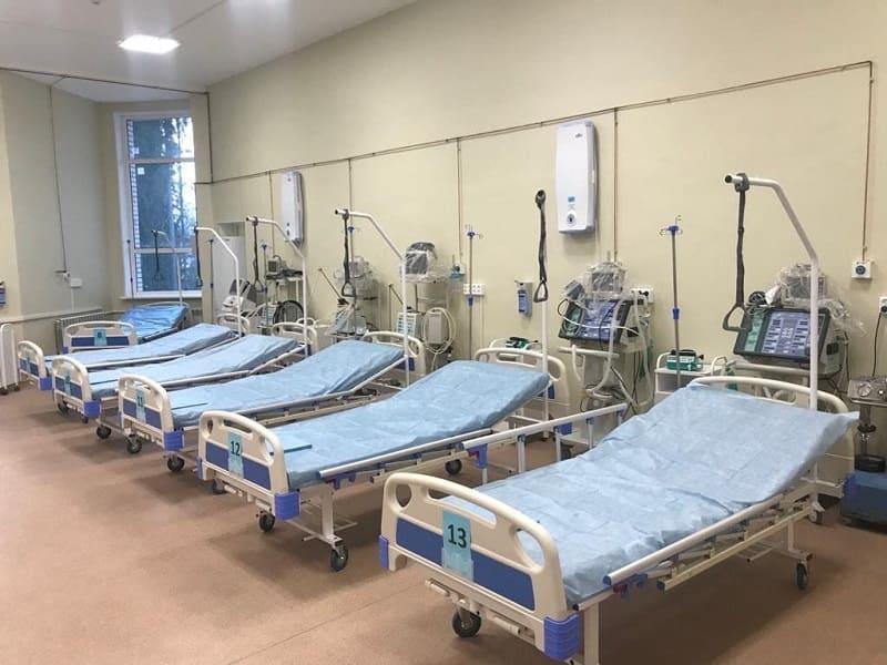 В Смоленской области развернуто почти 1600 коек для больных COVID-19