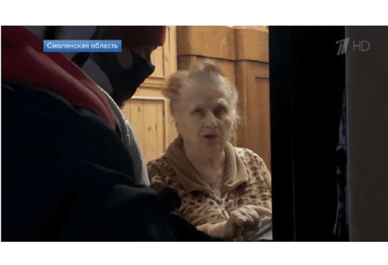 Смоленских волонтеров показали на Первом канале