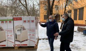 Фонд Сергея Неверова доставил в Сафоновскую ЦРБ кислородные концентраторы