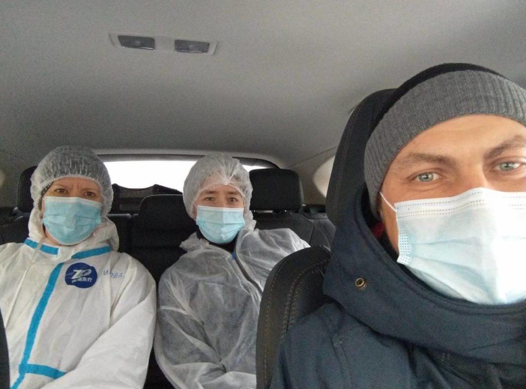 Смоленские автоволонтёры продолжают помогать врачам быстрее добираться до пациентов
