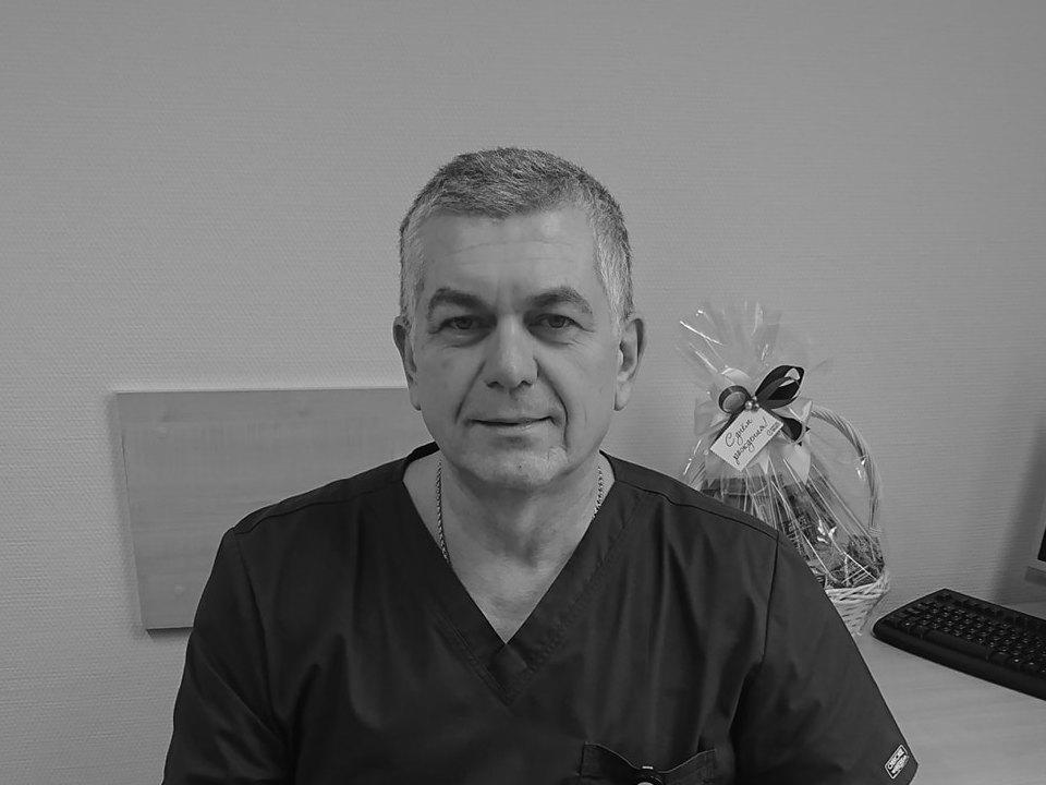 В Смоленске врач Вадим Гордадзе умер от осложнений коронавируса