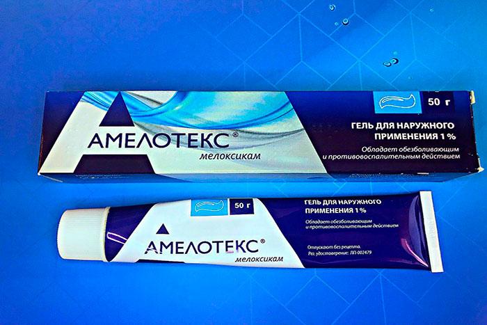 Амелотекс гель, средство для здоровья спины и суставов