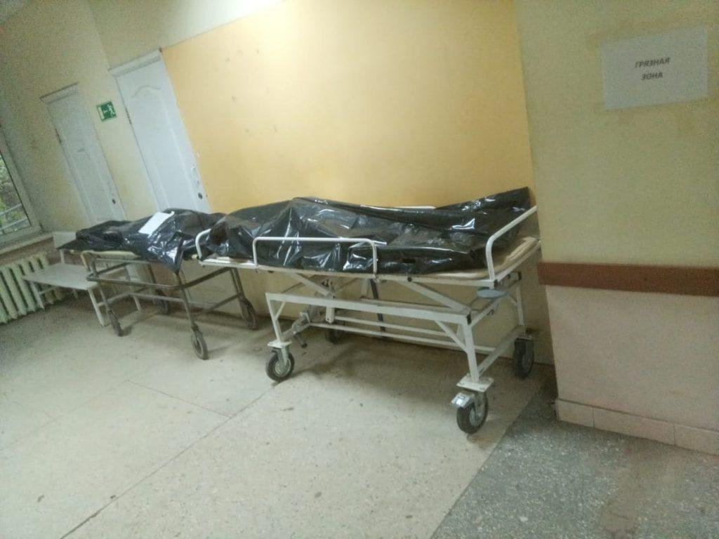 В Смоленской области повторился суточный показатель смертности от коронавируса