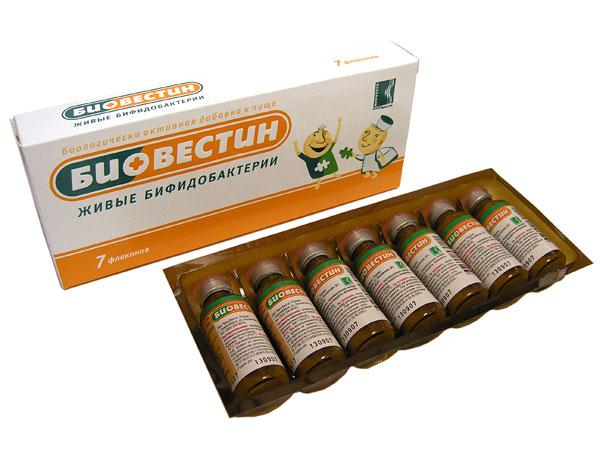 Биовестин: для чего и как принимать жидкие пробиотики?