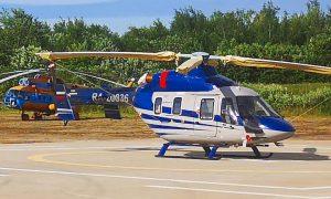 В Смоленскую область прибыл вертолет санитарной авиации