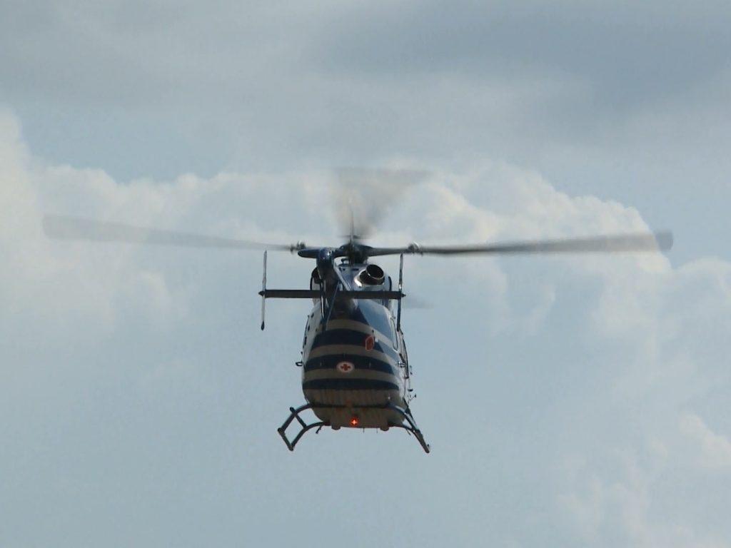 Смоленский вертолет санитарной авиации впервые в сезоне совершил вылет в Сафоновский район