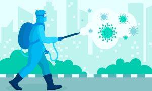 Дезинфекция от коронавируса в Москве