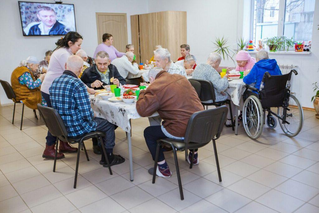 Функционирование дома престарелых