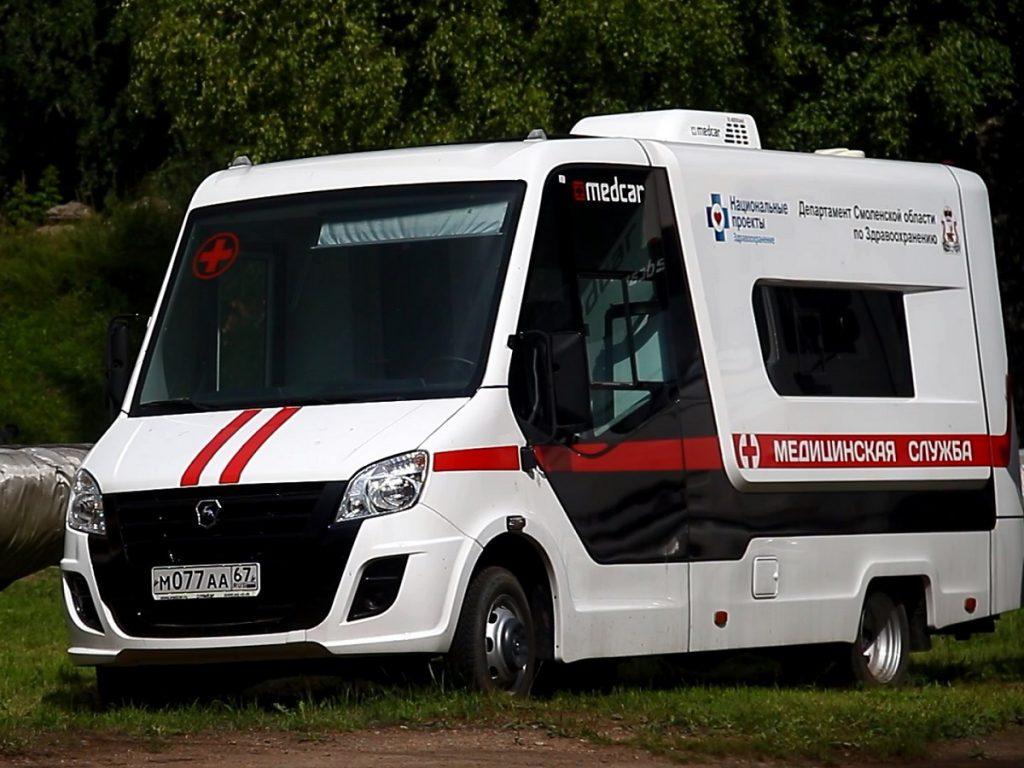 В Рославльский район поступят новые машины «скорой помощи»